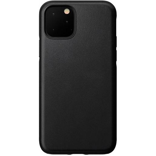 Чехол Nomad Rugged Case для iPhone 11 Pro. Материал кожа натуральная. Цвет черный.