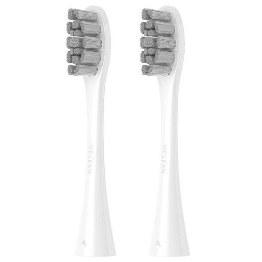 Комплект насадок PW01 для зубных щеток Oclean (2шт, белый, отбеливание)