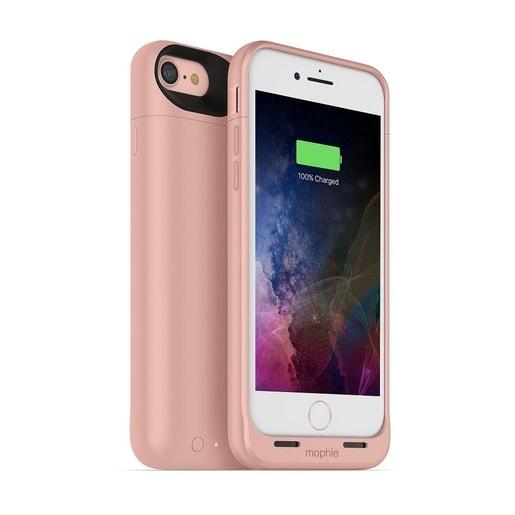 Чехол Mophie Juice Pack Air со встроенным аккумулятором для iPhone 7. Цвет: розовое золото.