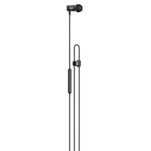 Наушники iFrogz Luxe Air с микрофоном вставные. Цвет черный.