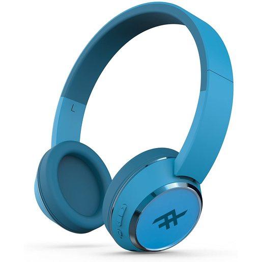 Беспроводные наушники iFrogz Audio Coda с микрофоном. Цвет синий.