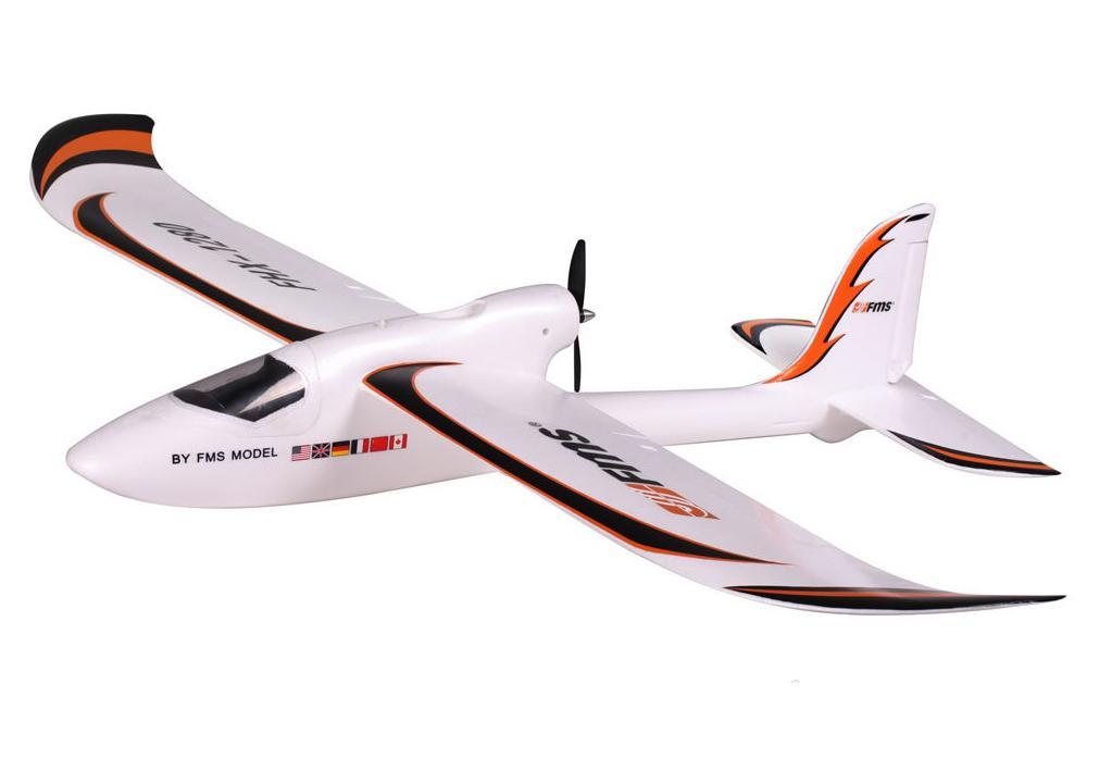FMS Радиоуправляемый Самолет - Easy Trainer 1280мм RTF (акк. 1300мАч, ЗУ)