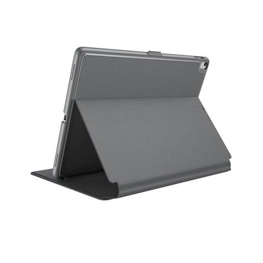 """Speck Balance FOLIO для iPad. Совместим с iPad new 9.7"""" (2017), iPad Pro 9.7"""", iPad Air и iPad Air 2. Материал пластик/полиуретан. Цвет серый/светло-серый."""