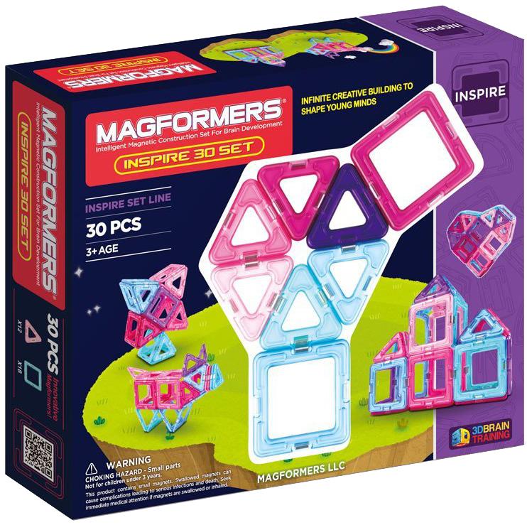 Магнитный конструктор Magformers Inspire 30 (704002)