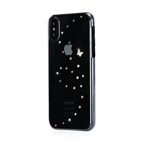 Чехол Bling My Thing для iPhone XS Max, с кристаллами Swarovski. Материал пластик. Коллекция Papillon. Дизайн Angel Tears. Цвет прозрачный.