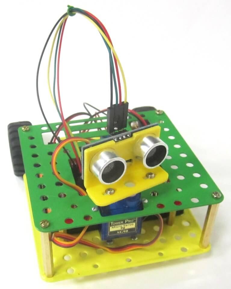 Электронный конструктор Ларт - робот Сармат Амага