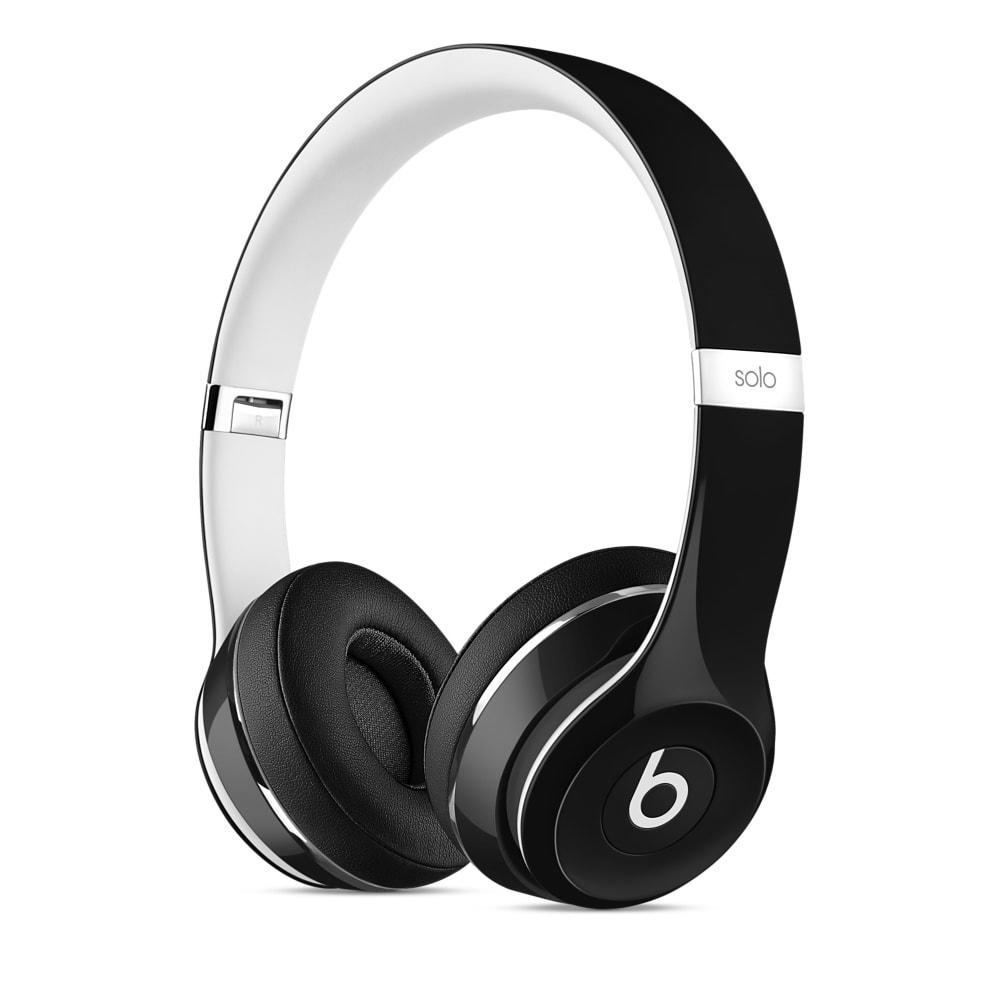 Наушники Beats Solo 2 Luxe Edition (Цвет: черный)