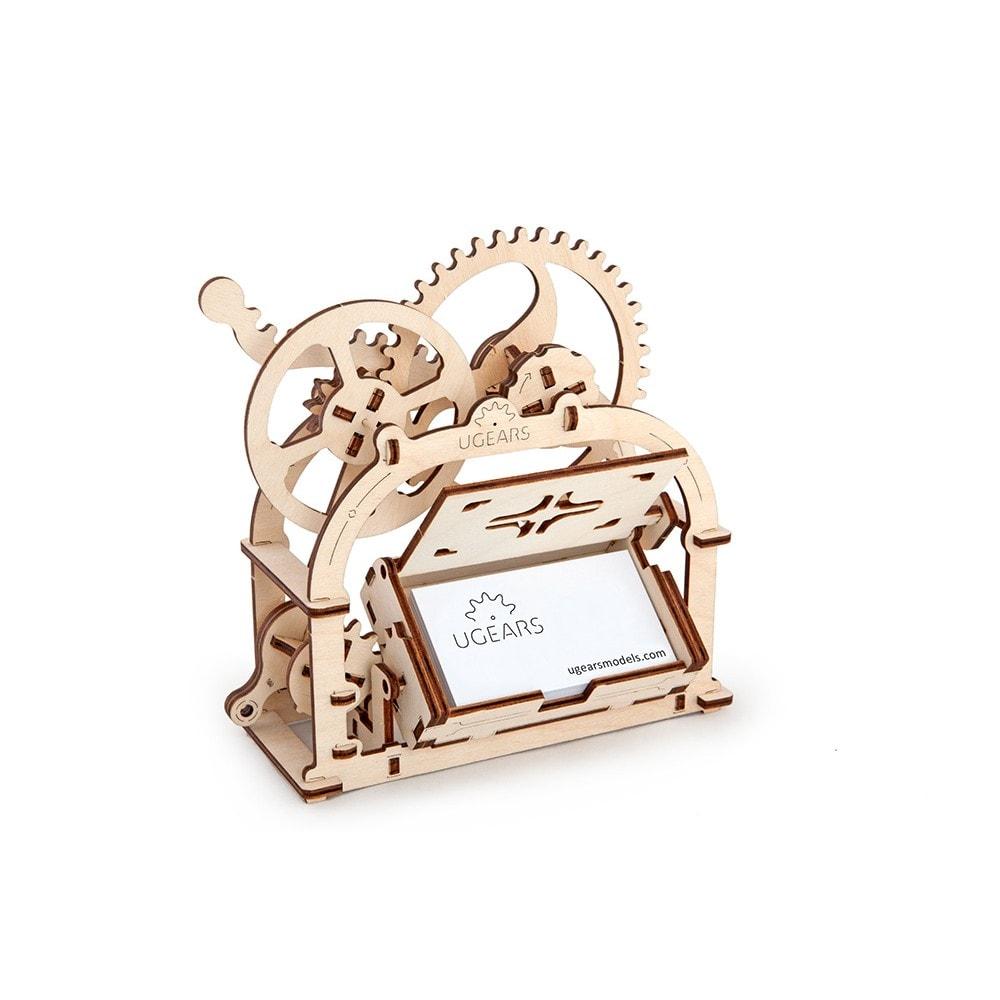 Механический 3D-пазл UGears Механическая шкатулка