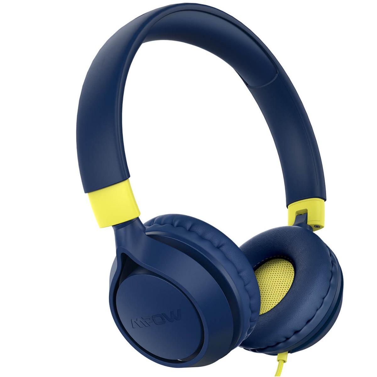 Детские накладные наушники со встроенным микрофоном и аудио разветвителем MPOW CHE1 Pro
