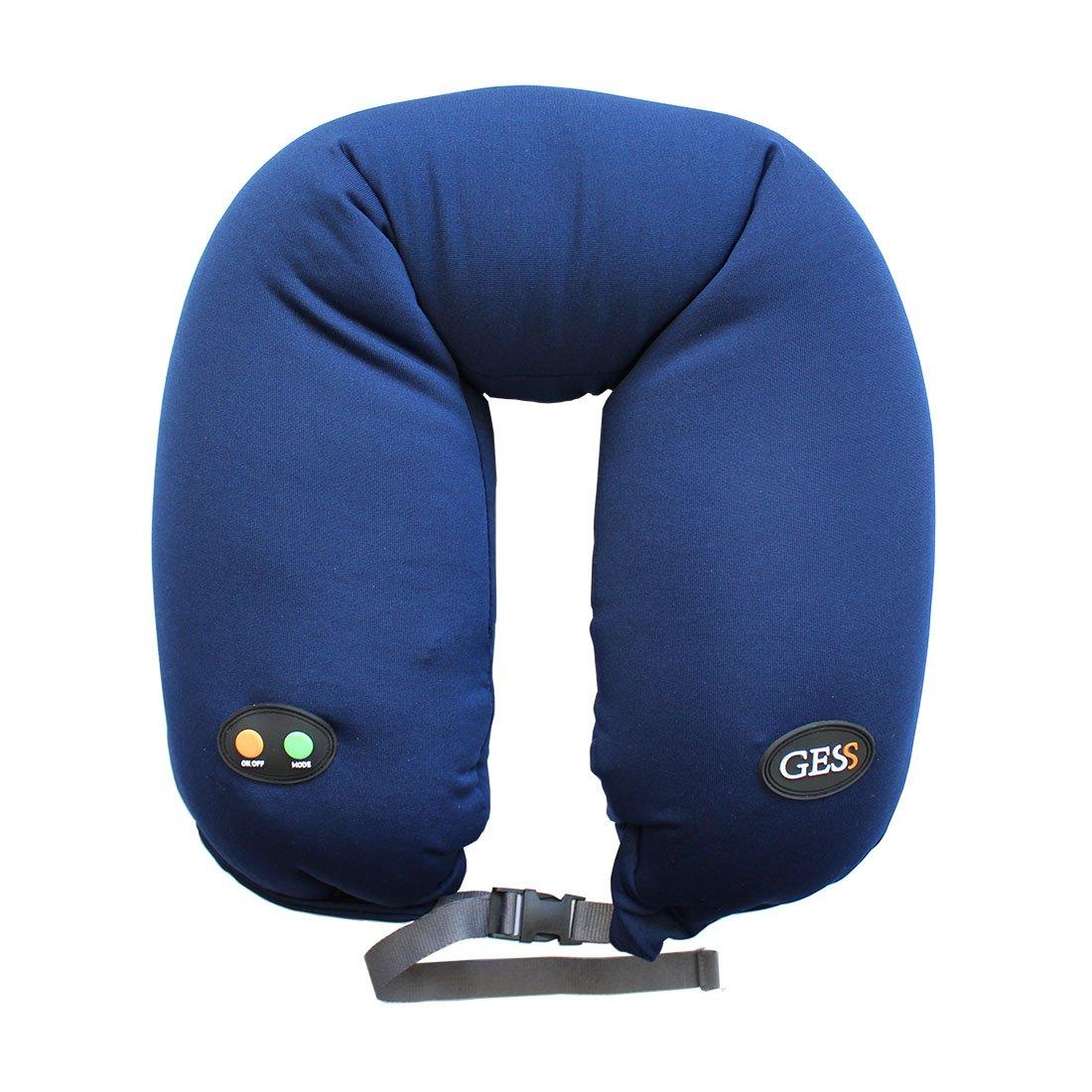 Gess uNeck PRO blue массажная подушка