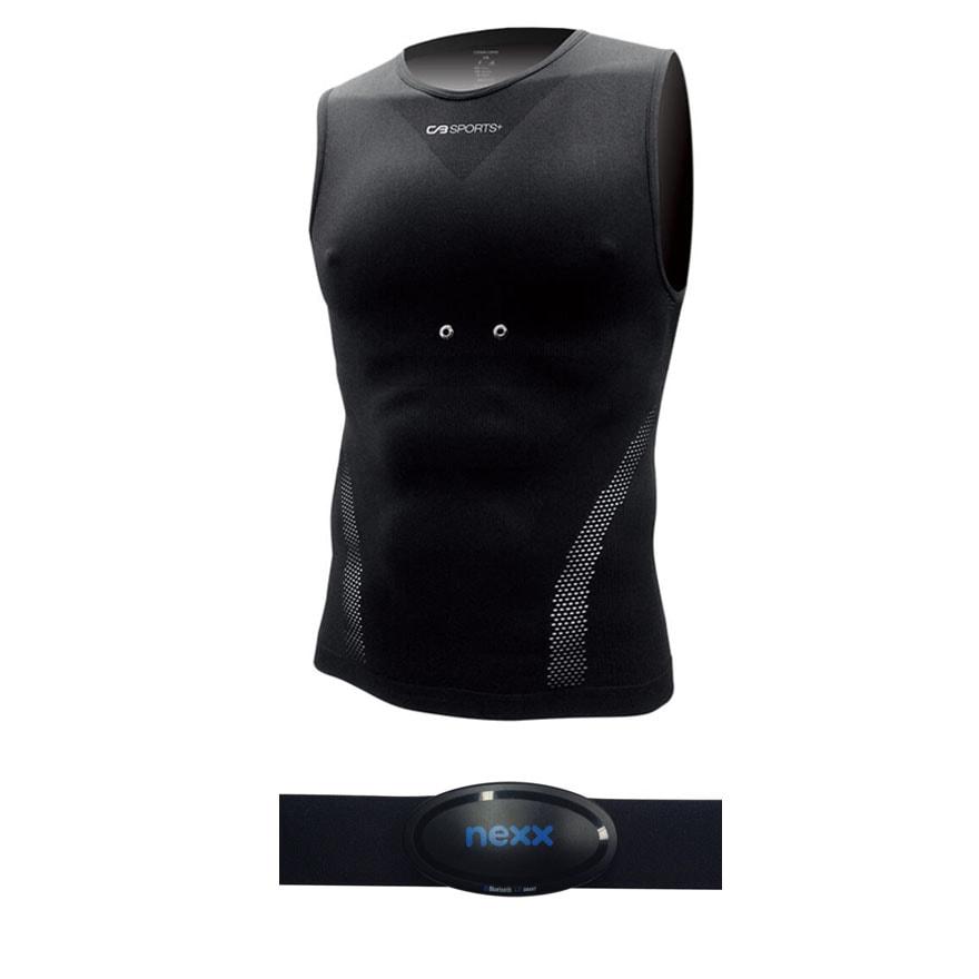 Спортивная кардиофутболка + нагрудный Bluetooth-пульсометр