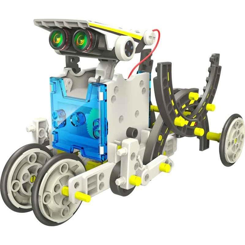 Конструктор Solar 13 в 1 для создания 13 роботов, работающих на солнечных батареях