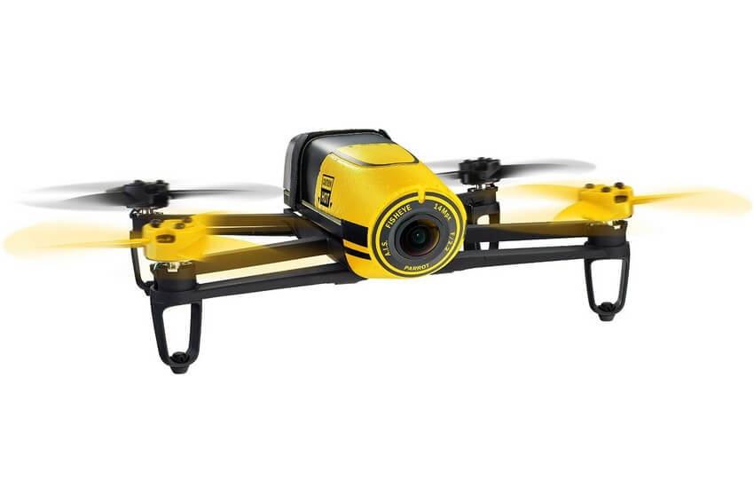Летающий дрон квадрокоптер Parrot Bebop Drone