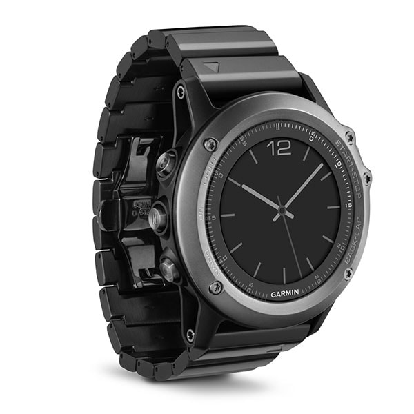 Garmin Fenix 3 Sapphire – мультиспортивные часы с поддержкой GPS/GLONASS (HRM опционально)