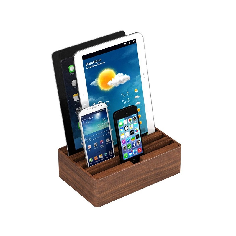 All-Dock – универсальная зарядная док-станция на 4 USB-порта для быстрой зарядки устройств (Medium) (уценка, вскрытая коробка)