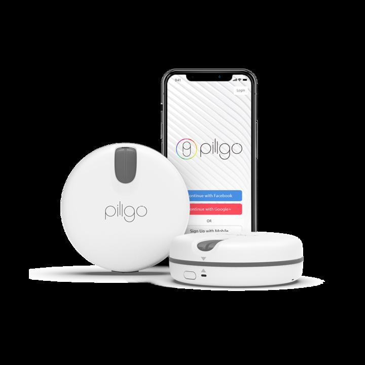 Умный органайзер для таблеток  Pillgo Smart Pillbox