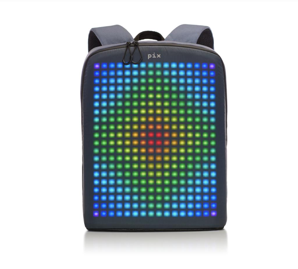 PIX — рюкзак со светодиодной панелью