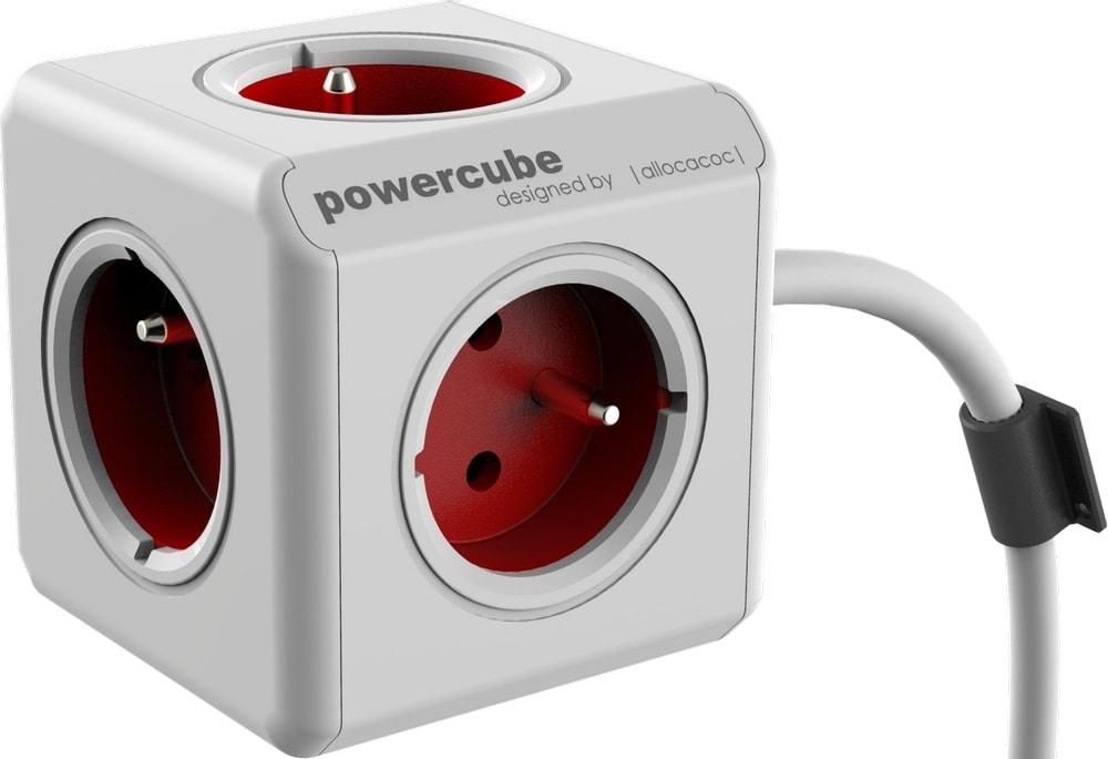 Сетевой удлинитель Allocacoc Powercube Extended с заземлением 5 розеток 1.5 м
