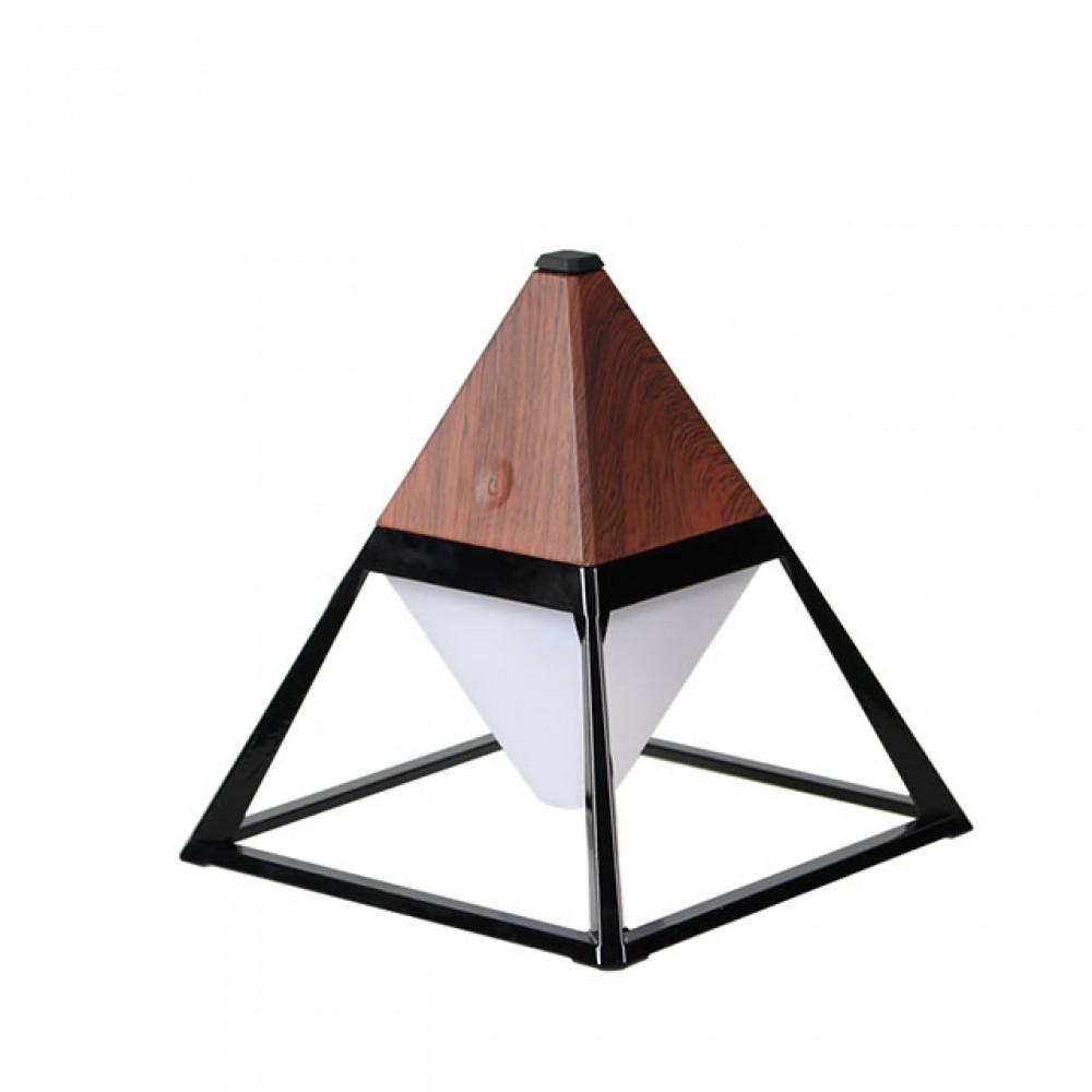 Лампа настольная с аккумулятором Ami Lamp Pyramid