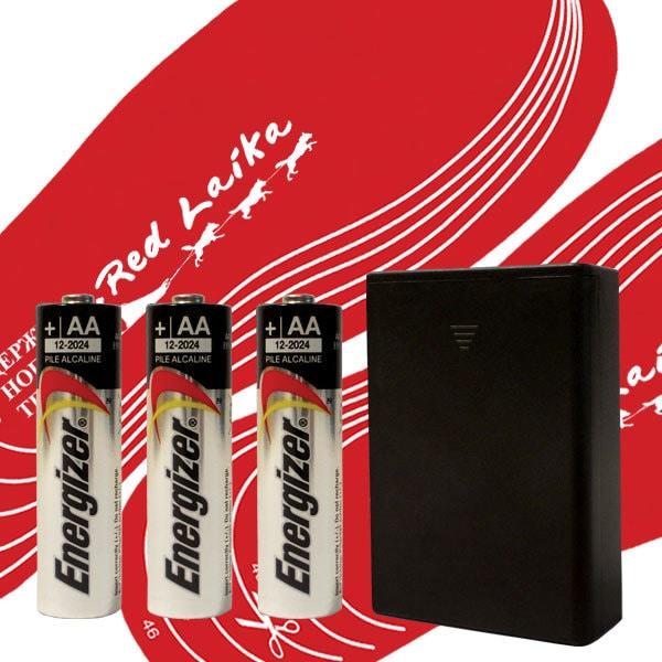 Стельки с подогревом на батарейках RedLaika RL-ST-AA