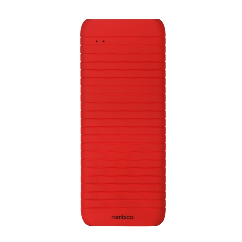 Rombica NEO ES40, 4000 mAh, Soft-touch, red