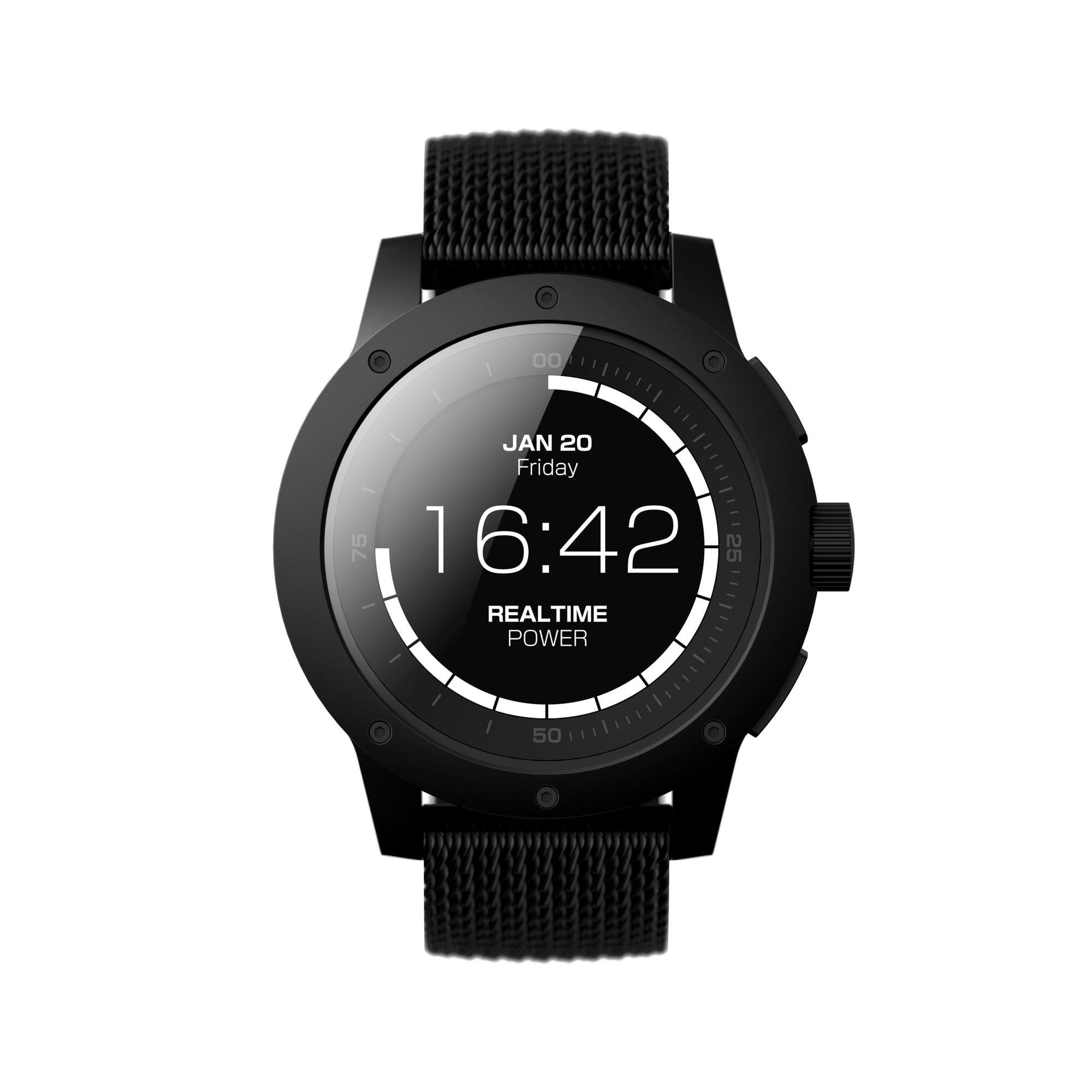 MATRIX PowerWatch Black Ops Pack: умные часы, которые не нужно заряжать