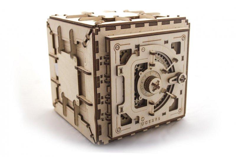 Механический 3D-пазл конструктор UGears Сейф