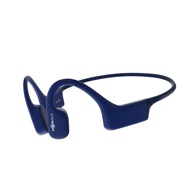 Водонепроницаемые наушники AfterShokz Xtrainerz с костной проводимостью Blue (уценка, вскрытая упаковка)