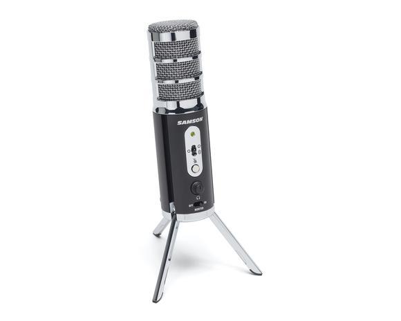 Samson. Конденсаторный USB/ iOS микрофон с переключаемой диаграммой направленности Satellite