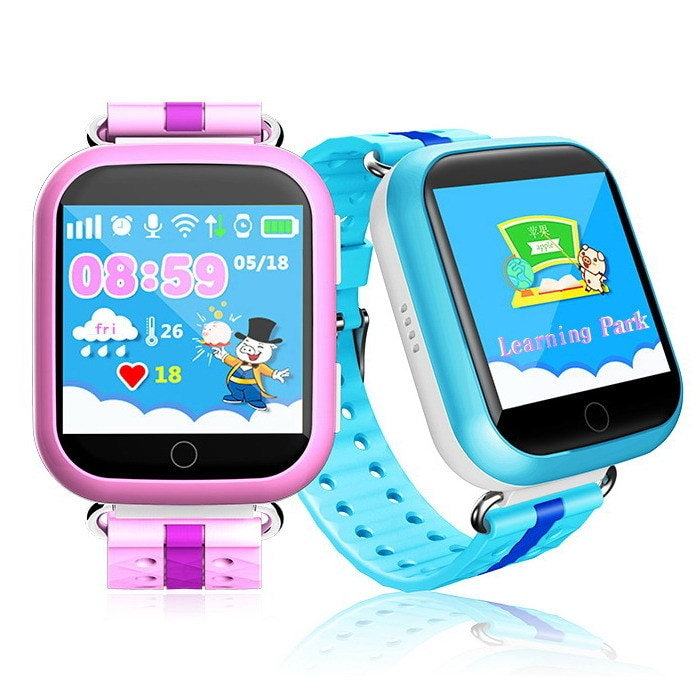 Детские часы с GPS трекером Smart Baby Watch Q90 (Q100) с сенсорным экраном