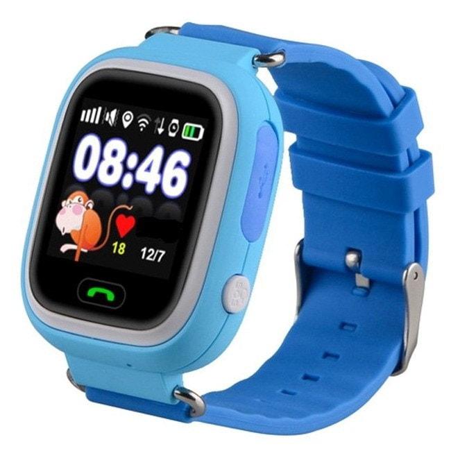 Детские часы с GPS трекером Smart Baby Watch Q80 с сенсорным экраном