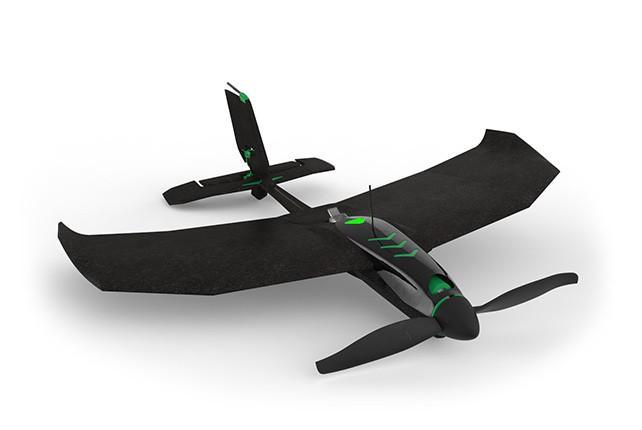 Самолет для гонок и трюков управляемый со смартфона TobyRich SmartPlane Pro