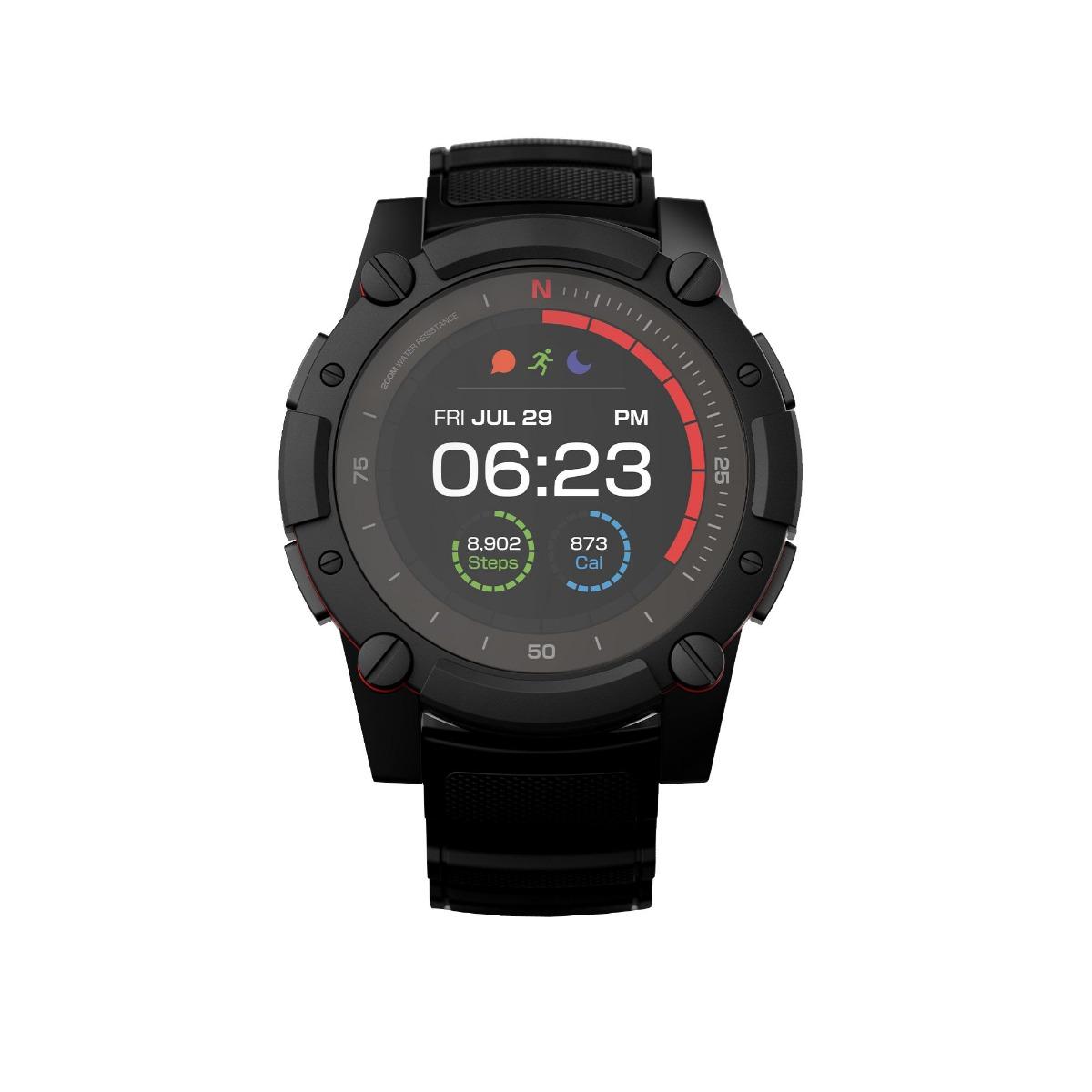 Matrix PowerWatch 2 — спортивные часы с датчиком ЧСС и модулем GPS, которые не требуют подзарядки