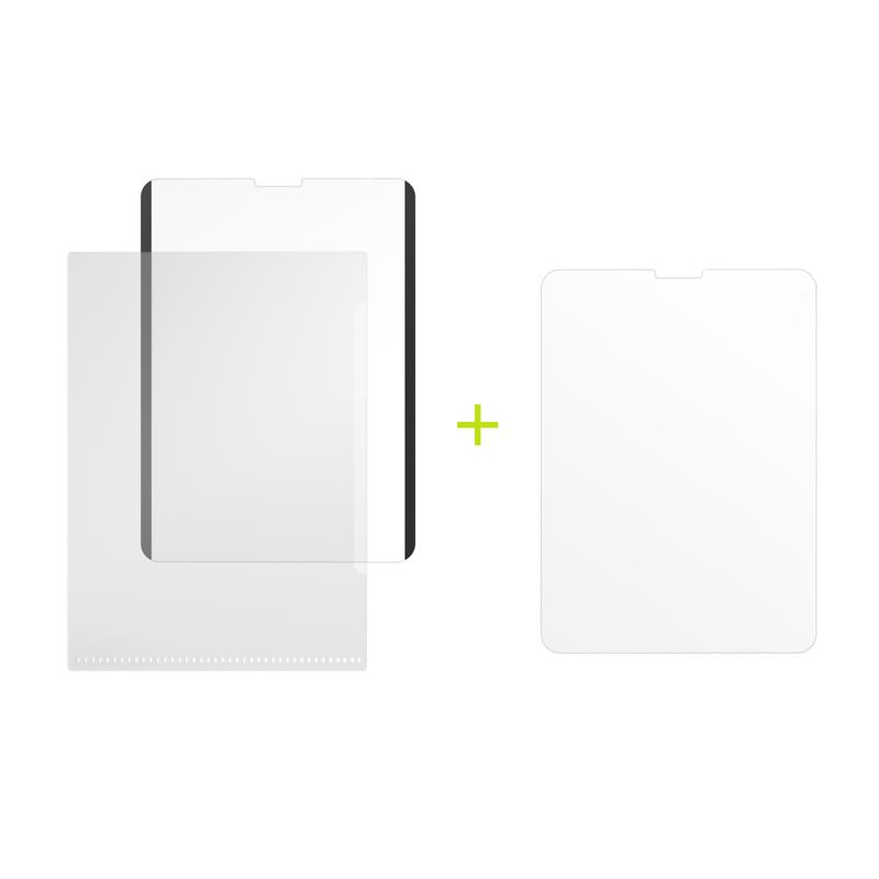 "Защитная плёнка на магнитном креплении+ Защитная плёнка SwitchEasy SwitchPaper 2-in-1 для 2021~2018 iPad Pro 11"" & 2020 iPad Air 10.9"" Цвет: Прозрачный GS-109-180-263-65"