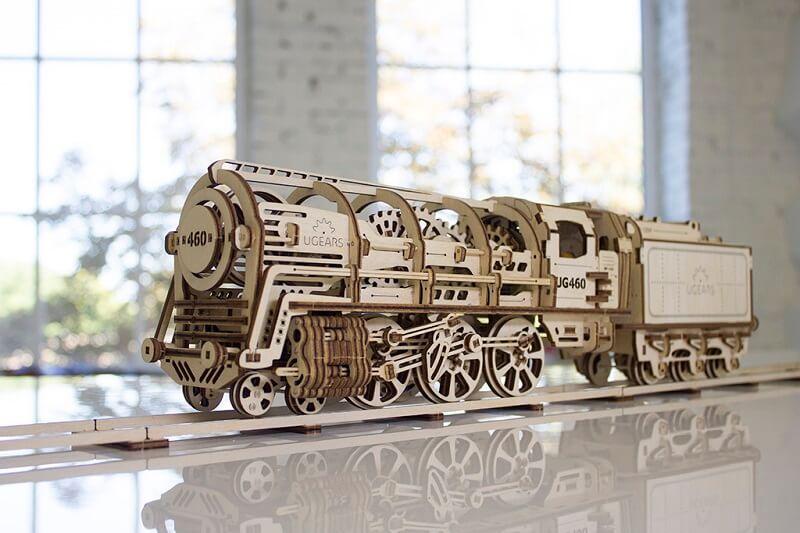 3D-пазл UGears Поезд (Train)