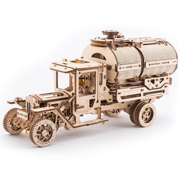 3D-пазл UGears Автомобиль-цистерна (Tanker truck)