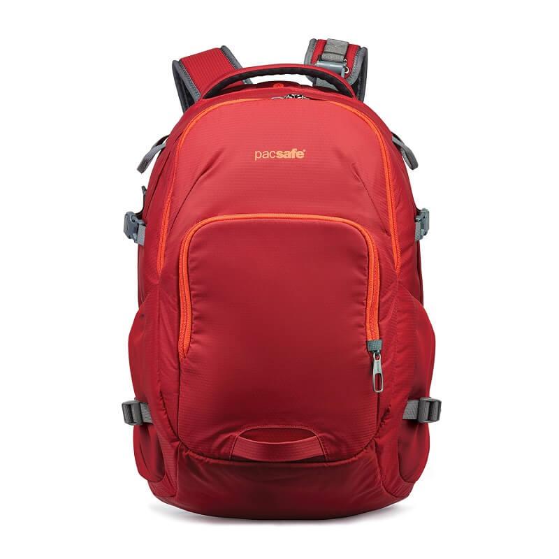 Рюкзак антивор Pacsafe Venturesafe 28L G3, красный, 28 л.