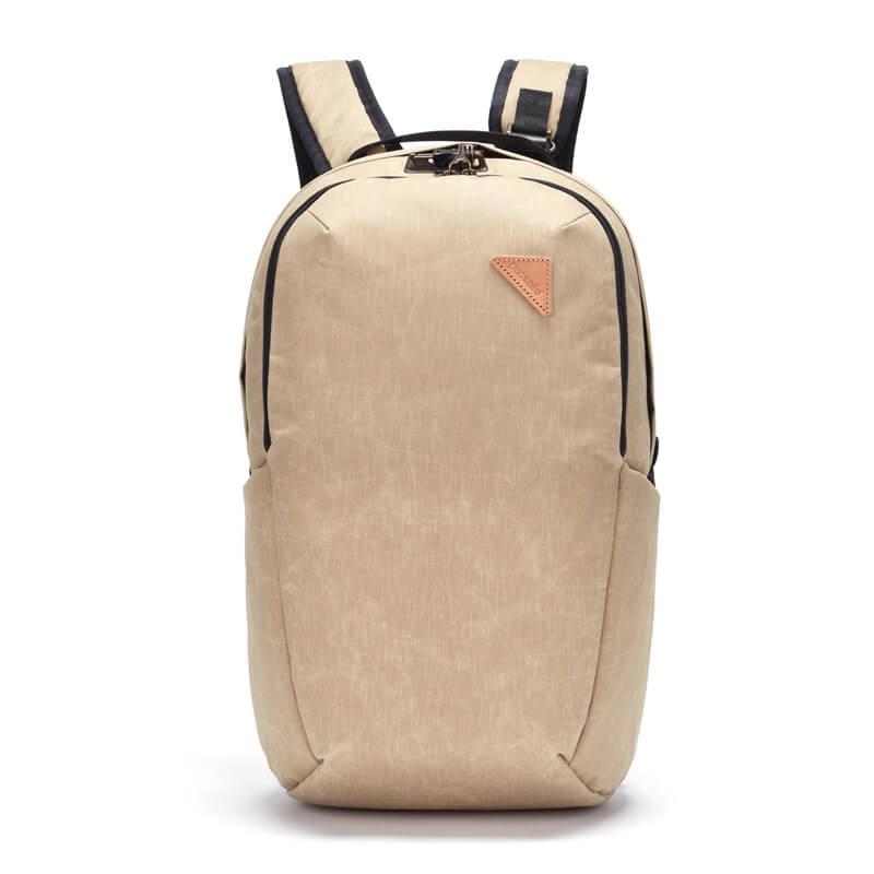 Рюкзак антивор Pacsafe Vibe 25, горчичный, 25 л.