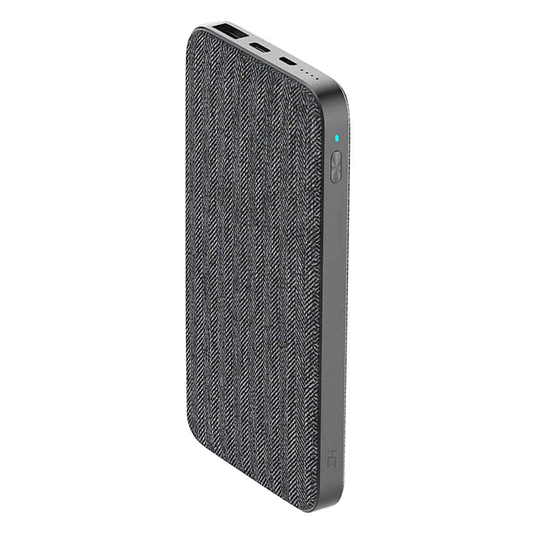 Внешний аккумулятор Power Bank Xiaomi Mi ZMI 10000 mAh (QB910) (Black)