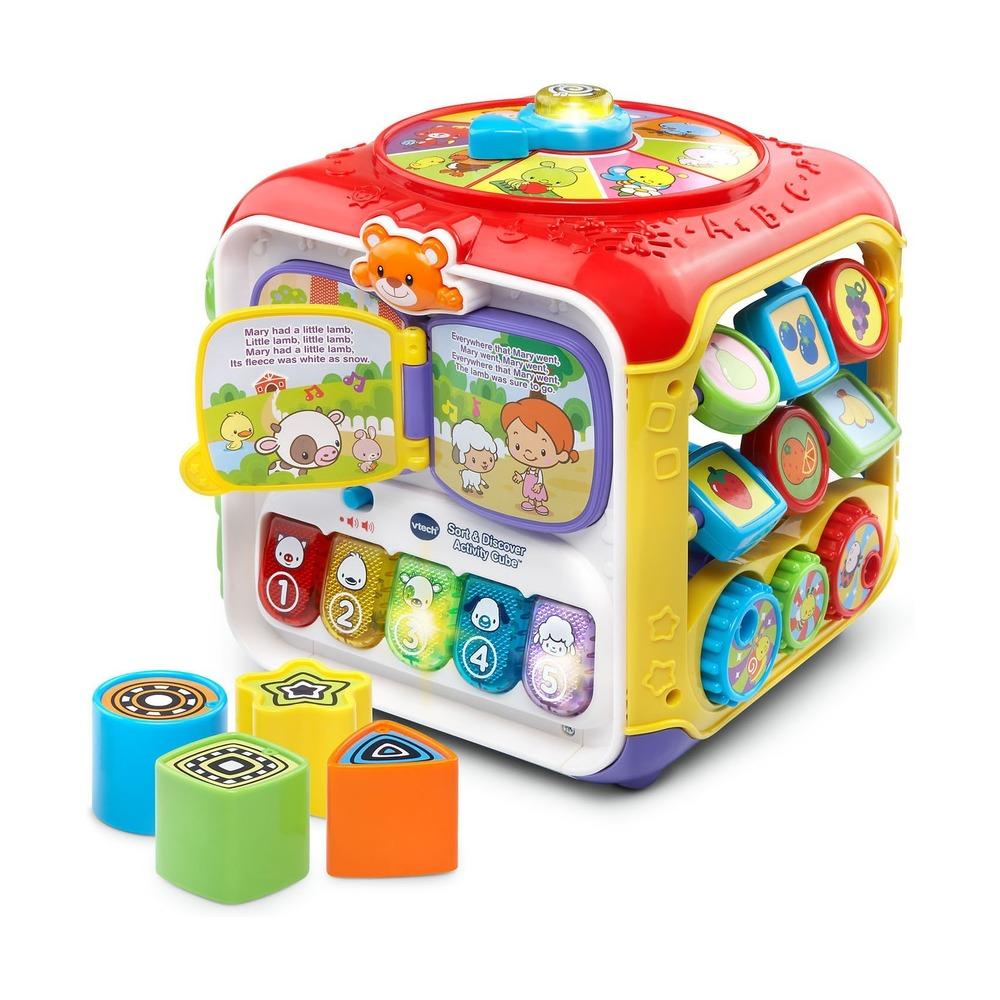 """Интерактивный куб """"Играй и учись"""" VTECH"""