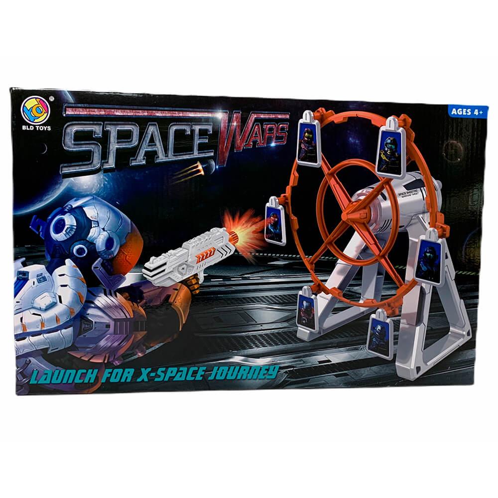 Набор игровой Space Wars «Стрельба из бластера по мельнице с мишенями»