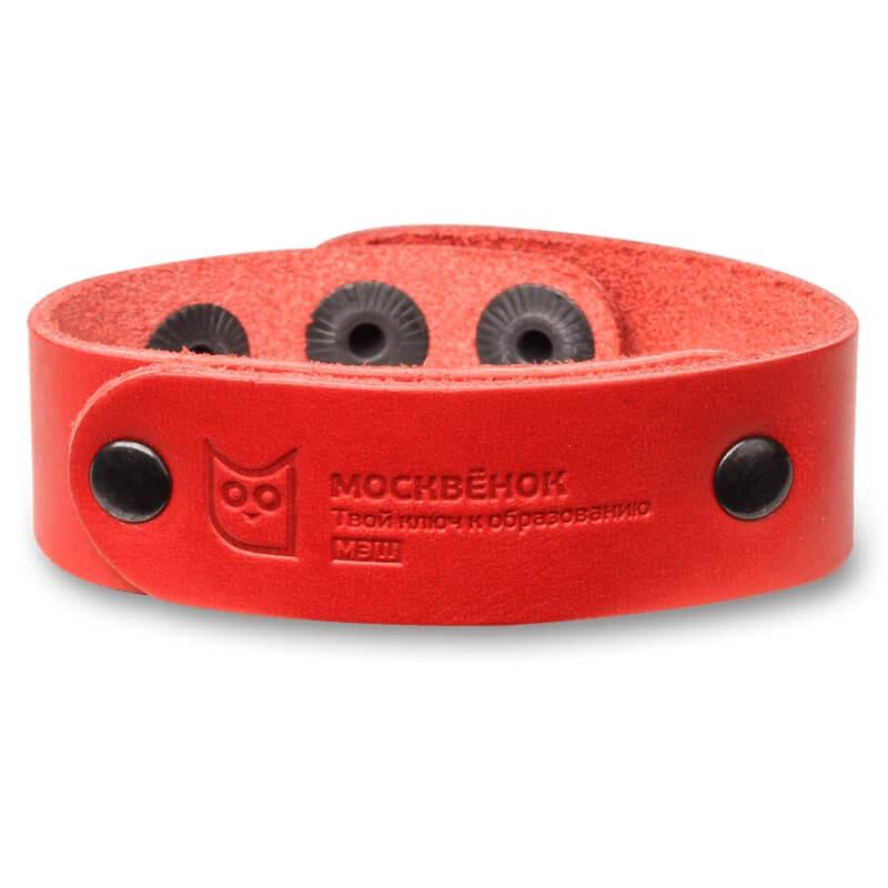 Кожаный RFID-браслет WOCHI P (Москвенок), размер S