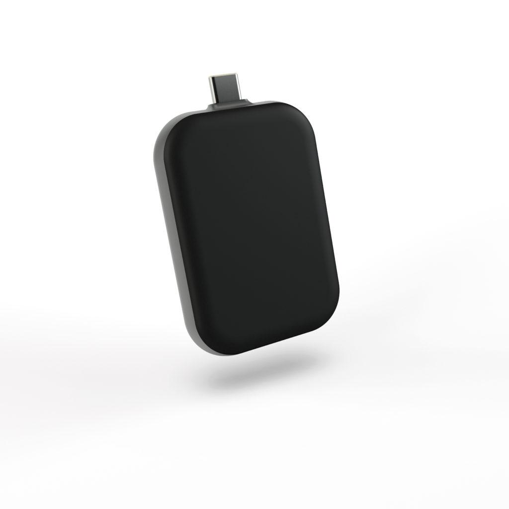 Беспроводное зарядное устройство ZENS Single USB C Stick Airpods or iPhone
