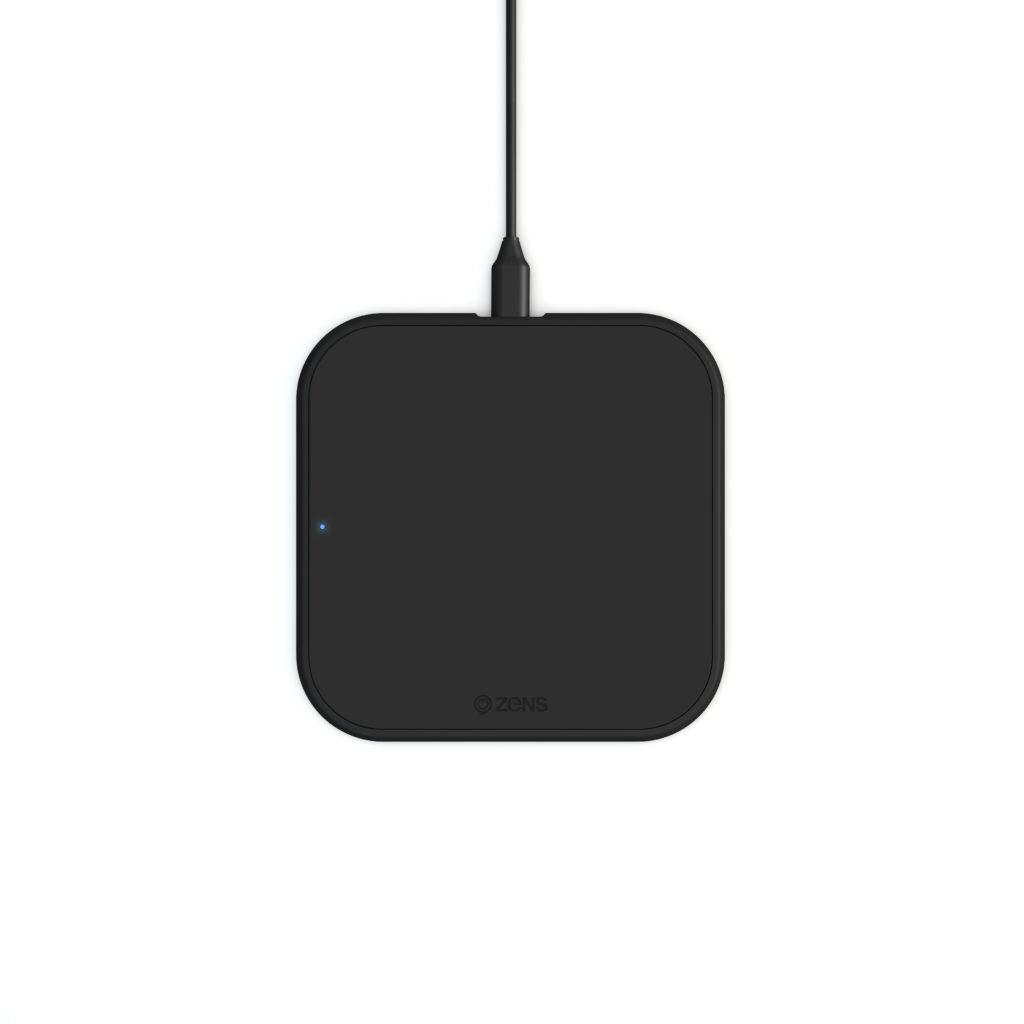 Беспроводное зарядное устройство ZENS Single Wireless Charger 10W Black