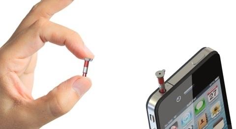 iPin-аксессуар: лазерная указка для iPhone