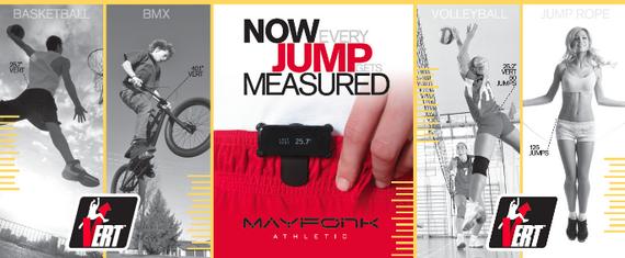 Измеритель параметров вертикального прыжка