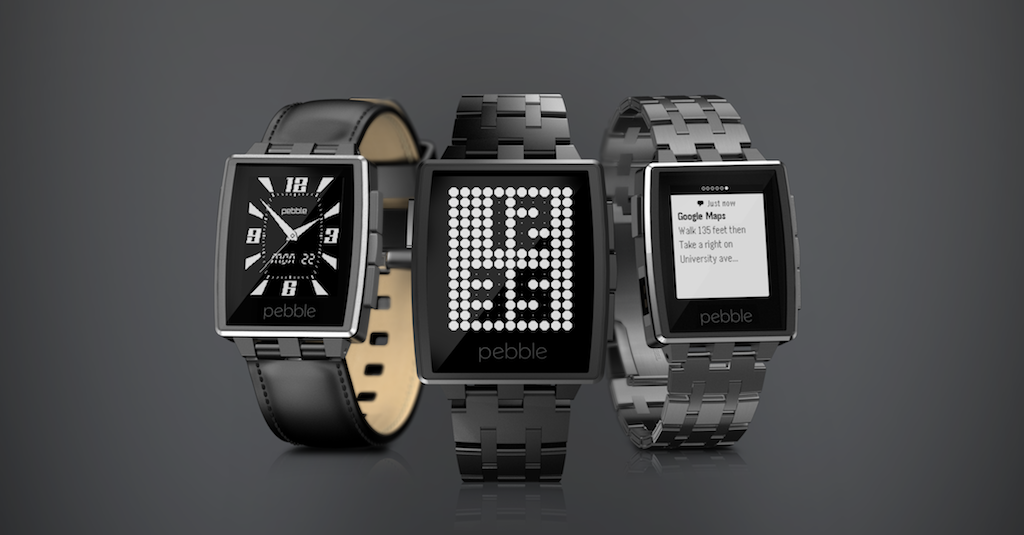 Смарт-часы Pebble Steel