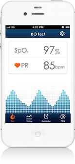 приложение iHealth SpO2