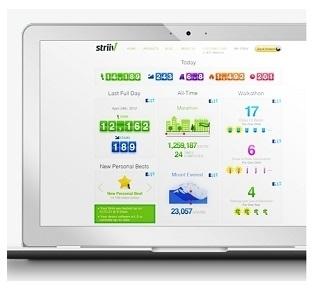 Информационная панель MyStriiv Dashboard