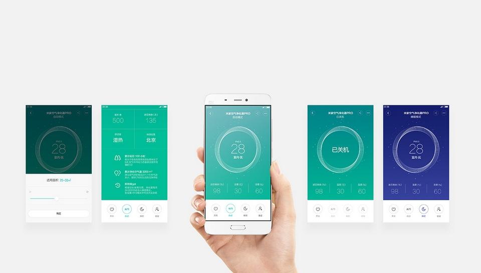 Xiaomi Mi Air Purifier Pro смартфон